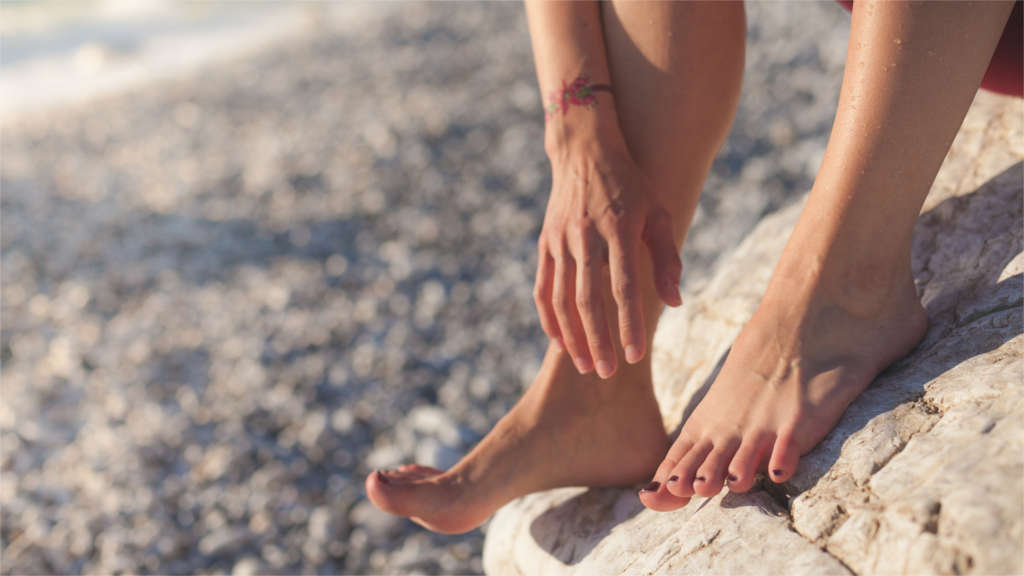 Jak pozbyć się bolesnych odcisków na stopach?